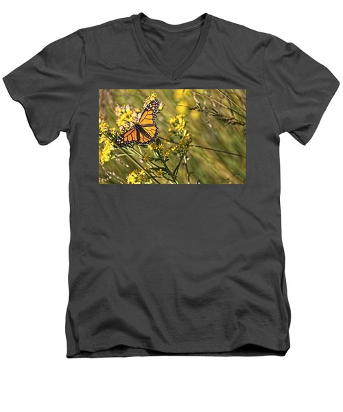 Monarch Hatch Men's V-Neck T-Shirt
