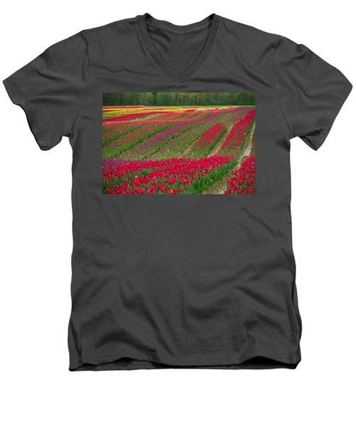 Monet Alive Men's V-Neck T-Shirt