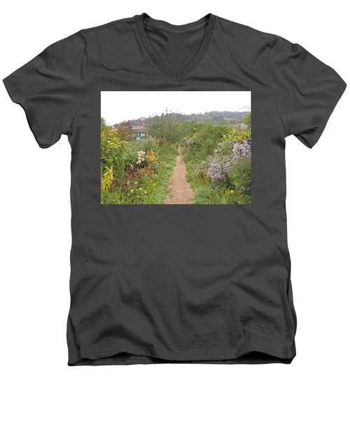 Monet's Garden 5 Men's V-Neck T-Shirt