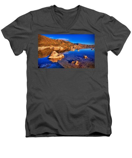Mono Lake Men's V-Neck T-Shirt