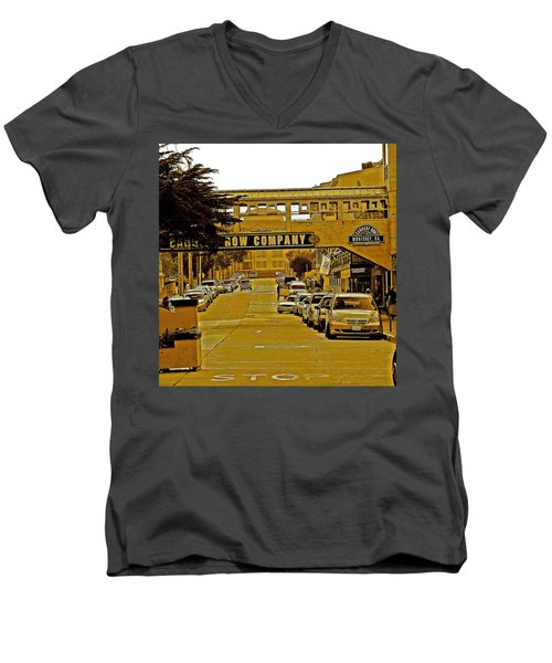 Monterey Cannery Row Company Men's V-Neck T-Shirt