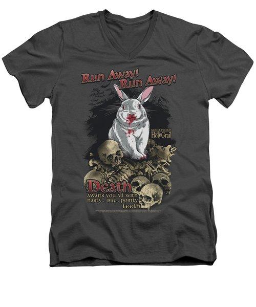 Monty Python - Run Away Men's V-Neck T-Shirt