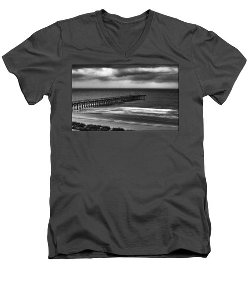 Moon Light Men's V-Neck T-Shirt