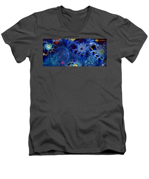 More Things In Heaven And Earth Men's V-Neck T-Shirt by Casey Kotas