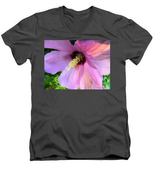 Morning Glory Men's V-Neck T-Shirt