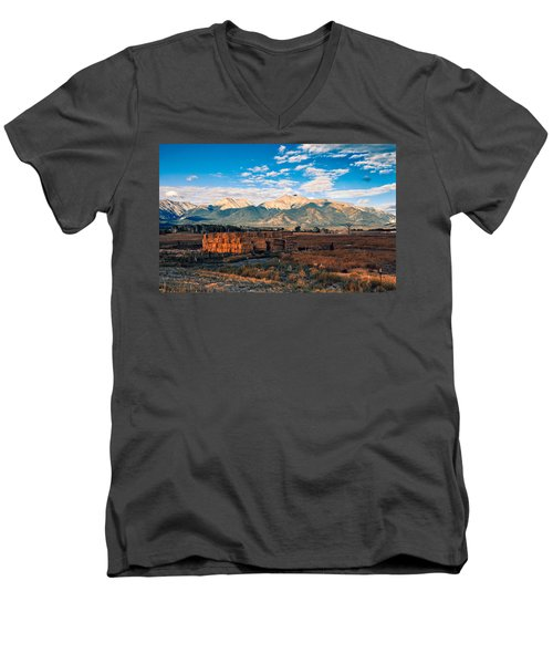 Morning Glow Men's V-Neck T-Shirt