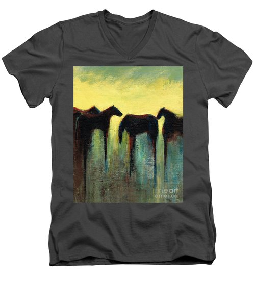 Morning Has Broken Men's V-Neck T-Shirt