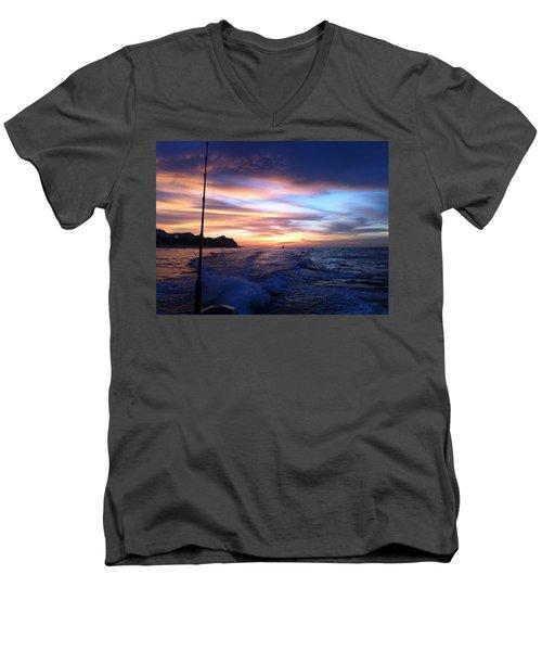 Morning Skies Men's V-Neck T-Shirt