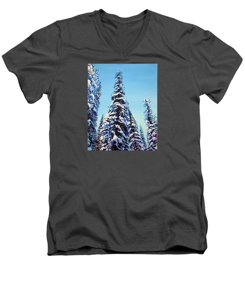 Morning Snow Men's V-Neck T-Shirt