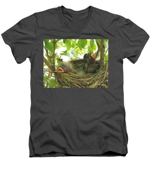 Morning Wakeup Call Men's V-Neck T-Shirt