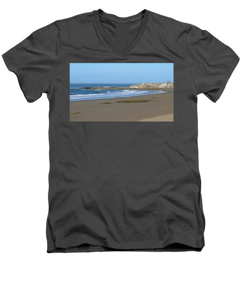 Moroccan Fishing Village Men's V-Neck T-Shirt