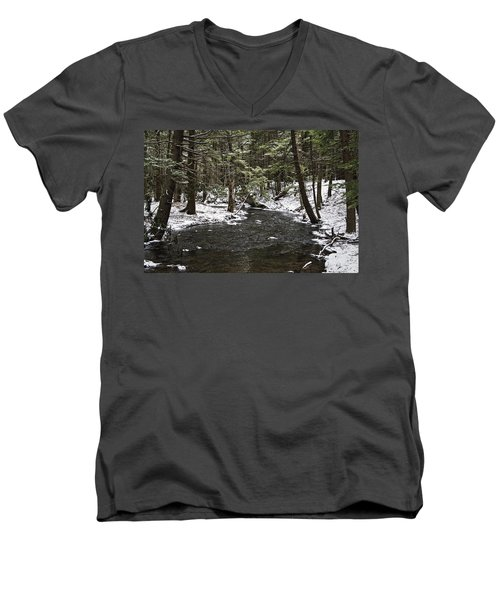 Moscow High School Nature Trail Men's V-Neck T-Shirt