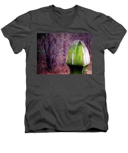 Mossy Post Men's V-Neck T-Shirt