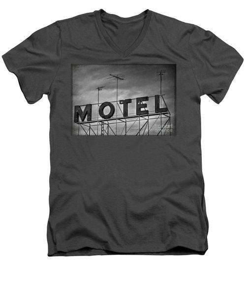 Motel Men's V-Neck T-Shirt