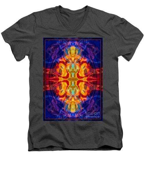 Mother Of Eternity Abstract Living Artwork Men's V-Neck T-Shirt