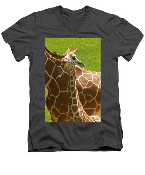 Mother's Child Men's V-Neck T-Shirt