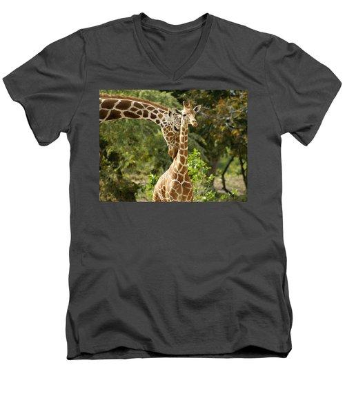 Mothers' Love Men's V-Neck T-Shirt