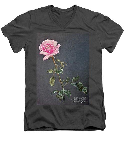 Mothers Rose Men's V-Neck T-Shirt