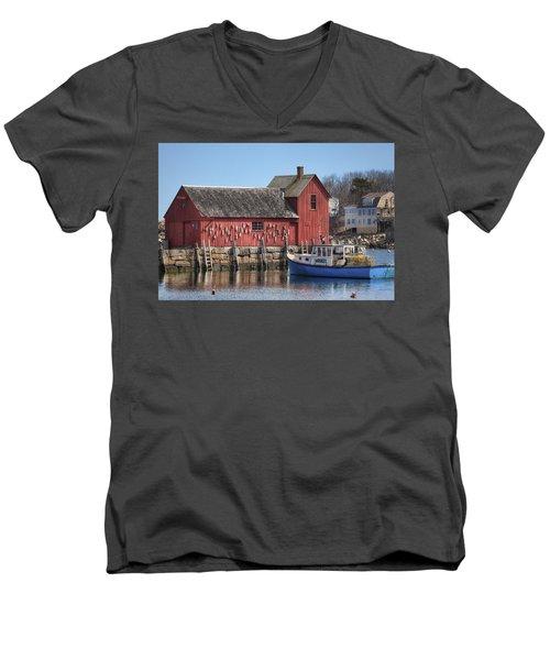 Motif Number 1 Men's V-Neck T-Shirt