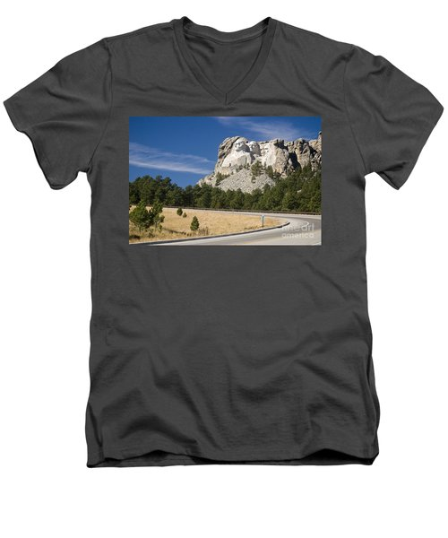 Mount Rushmore Men's V-Neck T-Shirt