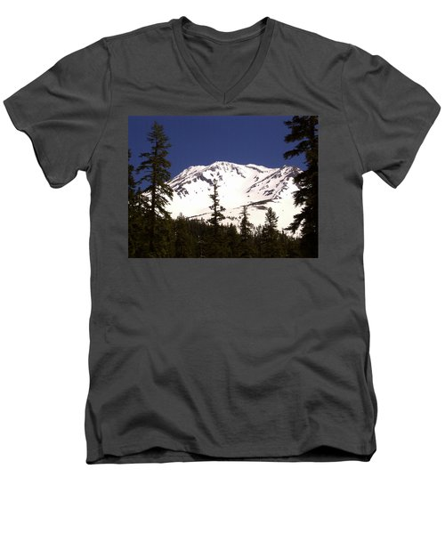 Mount Shasta Men's V-Neck T-Shirt