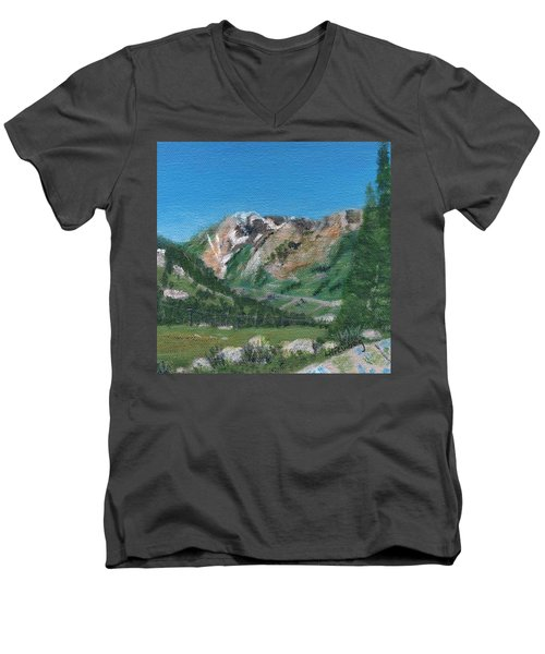 Mount Superior Men's V-Neck T-Shirt