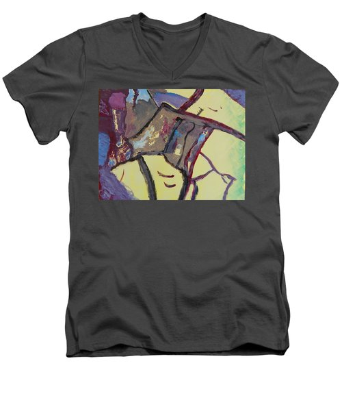 Mountain Antelope Men's V-Neck T-Shirt