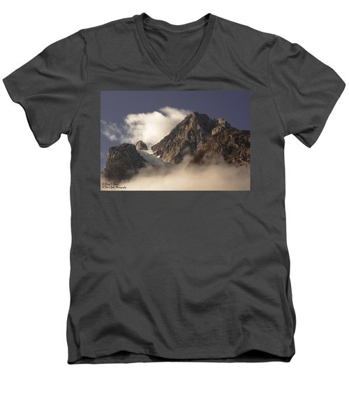 Mountain Clouds Men's V-Neck T-Shirt