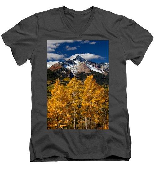 Mountainous Wonders Men's V-Neck T-Shirt