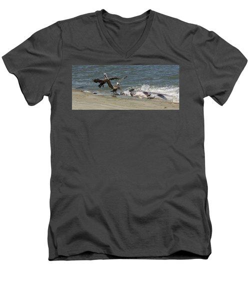 Moveable Feast Men's V-Neck T-Shirt