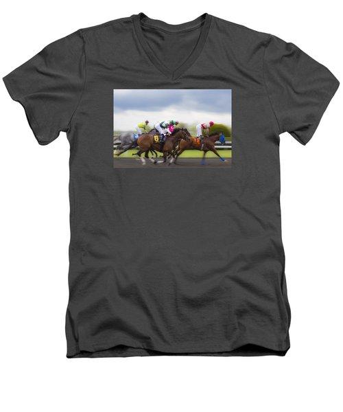 Moving Out Men's V-Neck T-Shirt