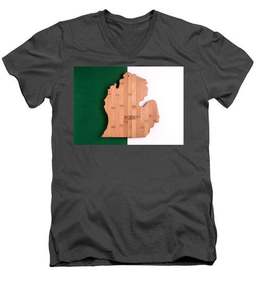 Msu Inspireme Men's V-Neck T-Shirt