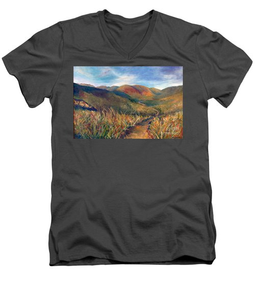 Mt. Diablo Hills Men's V-Neck T-Shirt
