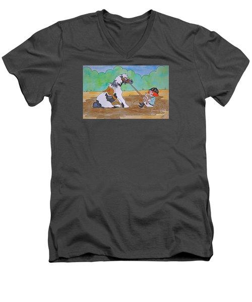 Mud Pony Men's V-Neck T-Shirt