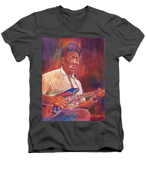 Muddy Waters Men's V-Neck T-Shirt
