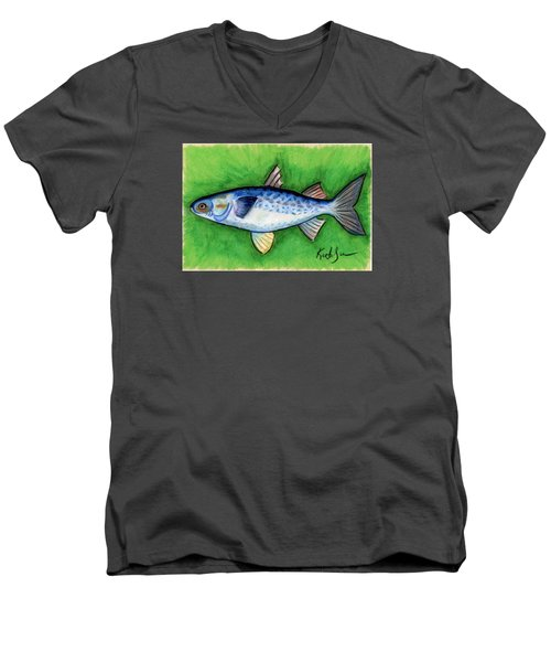 Mullet  Men's V-Neck T-Shirt