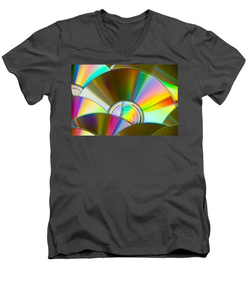 Music For The Eyes Men's V-Neck T-Shirt