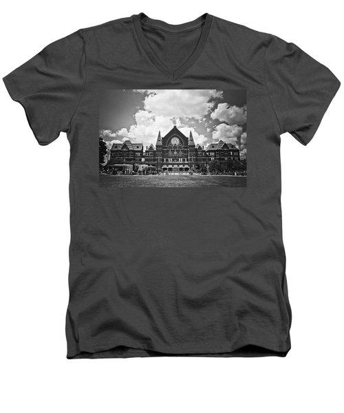 Music Hall 2 Men's V-Neck T-Shirt