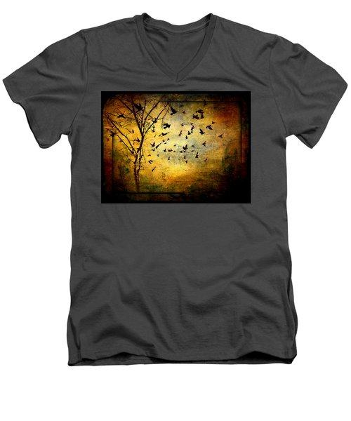 Musicisti Dell'aria Men's V-Neck T-Shirt
