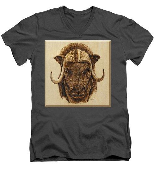 Muskox Men's V-Neck T-Shirt