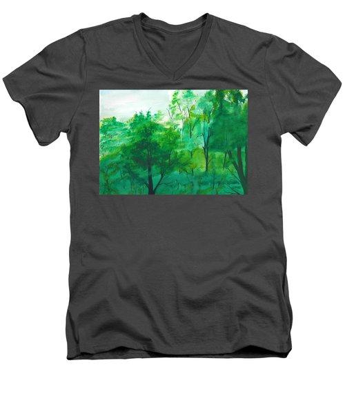 My Backyard Men's V-Neck T-Shirt