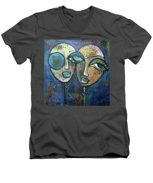 My Biggest Fan Men's V-Neck T-Shirt