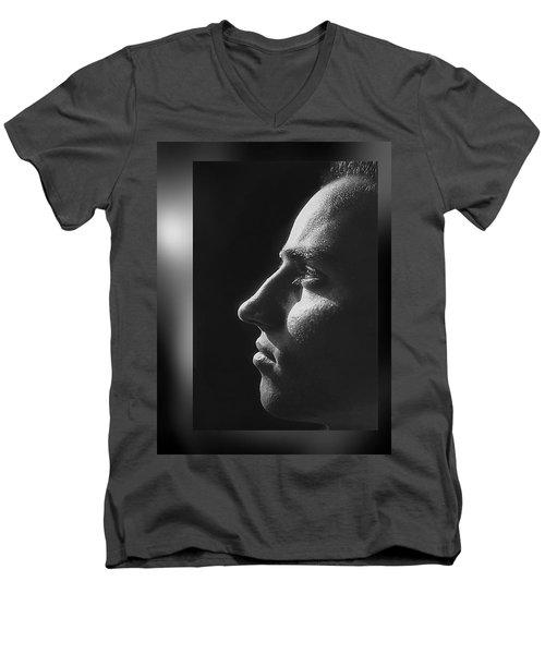 Just  Don' T  Smoke  Men's V-Neck T-Shirt