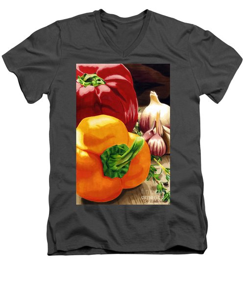 My Cutting Board Men's V-Neck T-Shirt