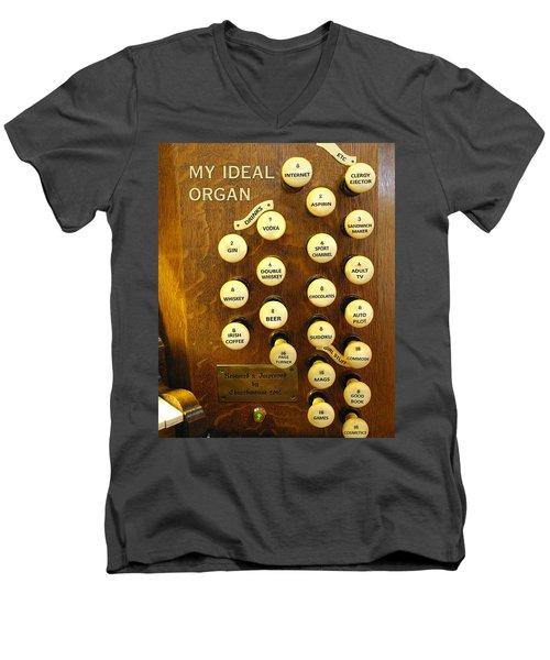 My Ideal Organ Men's V-Neck T-Shirt