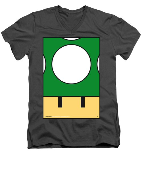 My Mariobros Fig 05b Minimal Poster Men's V-Neck T-Shirt