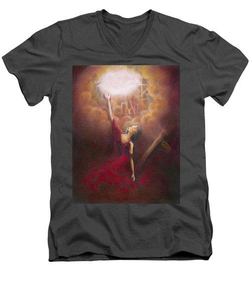 My Salvation  Men's V-Neck T-Shirt