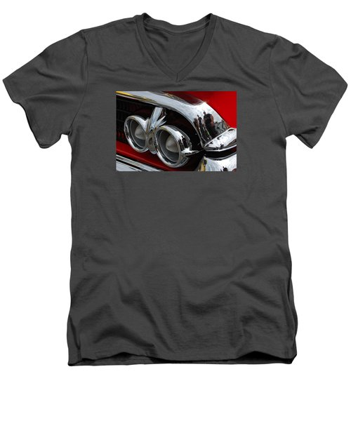 My Sons And I Men's V-Neck T-Shirt