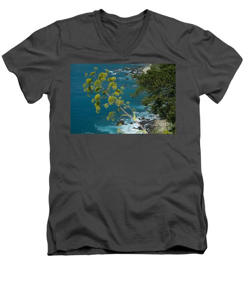My Taormina's Landscape Men's V-Neck T-Shirt
