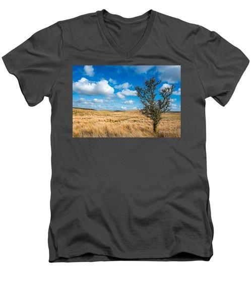 Mynydd Hiraethog Men's V-Neck T-Shirt